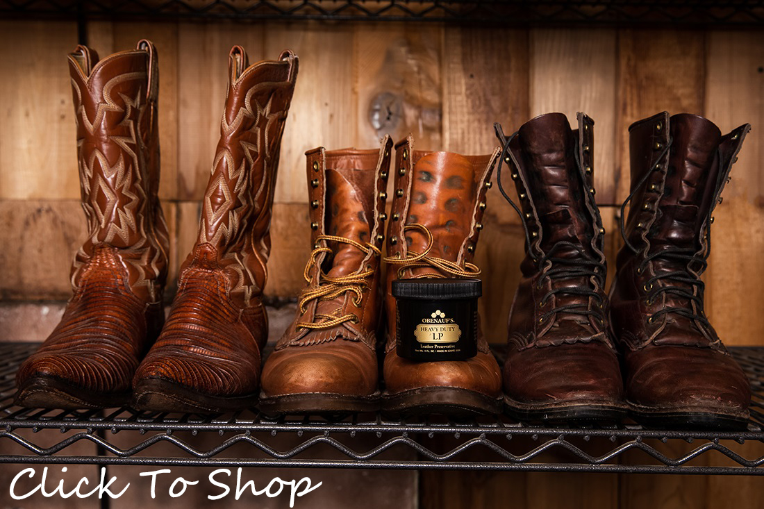 Heavy Duty Leather Preservative for Boots